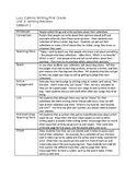 Lucy Calkins Writing First Grade Unit 3 - editable