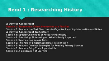 Lucy Calkins Grade 4 Reading History Powerpoint - SAMPLE SESSION !