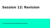 Lucy Calkins Grade 4 The Arc of Story: Writing Realistic Fiction Session 12 PPT