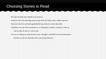 Lucy Calkins Grade 4 The Arc of Story: Writing Realistic Fiction Session 2PPT