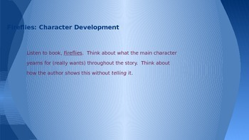 Lucy Calkins Grade 4 The Arc of Story: Writing Realistic Fiction Session 4 PPT