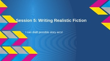 Lucy Calkins Grade 4 The Arc of Story: Writing Realistic Fiction Session 5 PPT