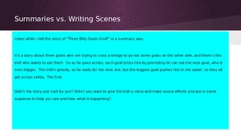 Lucy Calkins Grade 4 The Arc of Story: Writing Realistic Fiction Session 6 PPT
