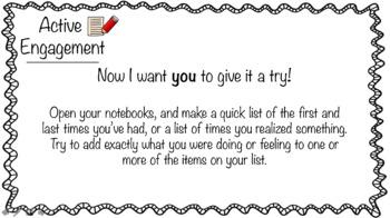 Lucy Calkins Grade 5 Writing Narrative Craft SAMPLE