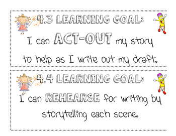 "Once Upon a Time: ""I can"" Statements for Lucy Calkins Grade 3 Unit 4"