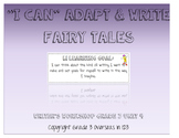 """Once Upon a Time: """"I can"""" Statements for Lucy Calkins Grad"""