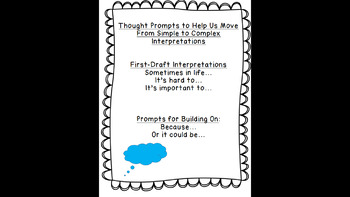 Lucy Calkins: Interpreting Characters: Anchor Charts Bend 3