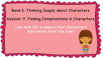 Lucy Calkins: Interpreting Characters: The Heart of the Story Session 11 PPT