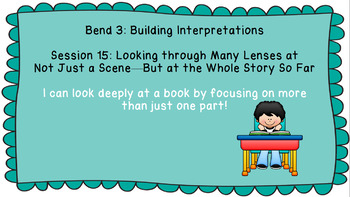 Lucy Calkins: Interpreting Characters: The Heart of the Story Session 15 PPT