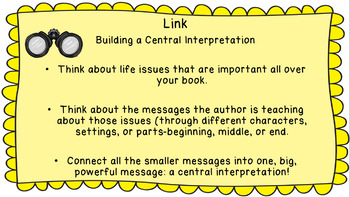 Lucy Calkins: Interpreting Characters: The Heart of the Story Session 17  PPT