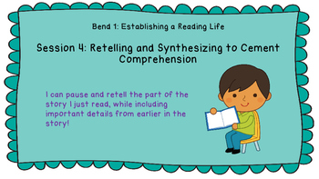 Lucy Calkins: Interpreting Characters: The Heart of the Story Session 4 PPT
