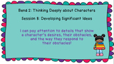 Lucy Calkins: Interpreting Characters: The Heart of the Story Session 8 PPT