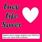 Lucy Calkins Kindergarten Writing SUPER PACK Units 1-4 Slides Lesson Plans