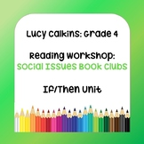 Lucy Calkins Lesson Plans - 4th Grade Reading Workshop: So
