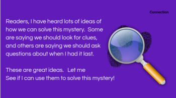 Lucy Calkins Mystery: Foundational Skills Reading 3rd Grade Bend 1 Slides