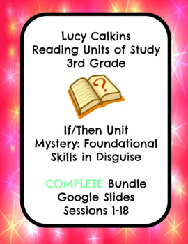 Lucy Calkins Mystery: Foundational Skills Reading 3rd Grade COMPLETE BUNDLE