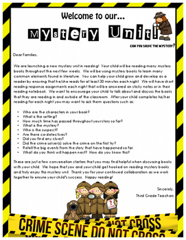 Lucy Calkins Mystery Reading Workshop Lesson 1 Grade 3