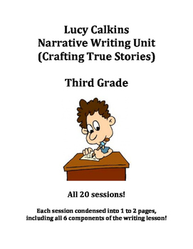 Lucy Calkins-Crafting True Stories-3rd Grade