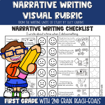 Visual Rubric for Narrative Writing with Lucy Calkins: 1st and 2nd Grades