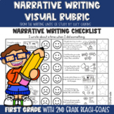 Visual Rubric for Narrative Writing with Lucy Calkins: 1st