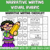 Lucy Calkins Narrative Writing Checklist for Kindergarten