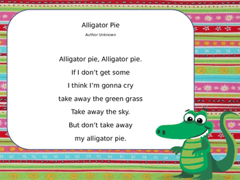 Lucy Calkins  Poetry  (Grade 2)