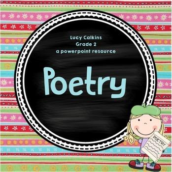 Lucy Calkins Poetry (Grade 2)*** ENTIRE UNIT***