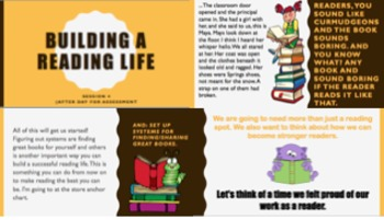 Lucy Calkins Building A Reading LIfe (Grade 3) Bend 1