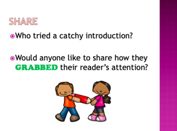Lucy Calkins PowerPoint Unit 3:  Writing Reviews-Opinion Grade 1