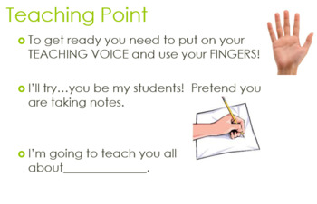 Lucy Calkins PowerPoints Unit 1 & 2:  Small Moments & Non Fiction/Grade 1