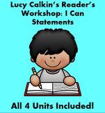 Lucy Calkins Reader's Workshop 'I Can' Statements.
