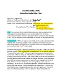 Lucy Calkins Reading Grade 1 - Building Good Reading Habits - Lessons 1-8
