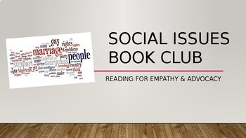 Lucy Calkins Reading Grades 6-8 Social Issues Book Clubs PowerPoint