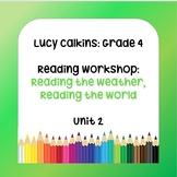 Lucy Calkins Lesson Plans - 4th Grade - Reading Workshop: