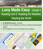Lucy Calkins Reading Unit 2  - Reading the Weather, Reading the World - Grade 4
