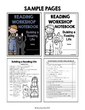 Lucy Reading Workshop - 3rd Grade Notebook - Unit 1