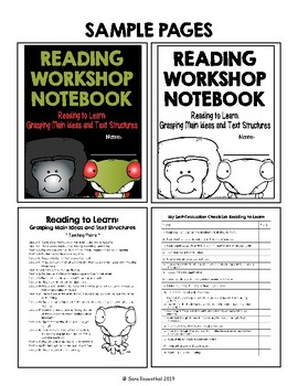 Lucy Reading Workshop - 3rd Grade Notebook - Unit 2