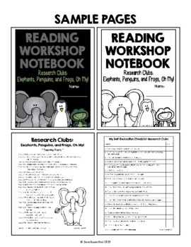 Lucy Reading Workshop - 3rd Grade Notebook - Unit 4