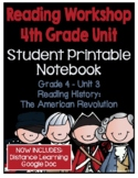 Lucy Reading Workshop: 4th Grade Notebook - Unit 3 - Distance Learning