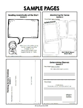 Lucy Reading Workshop - 4th Grade Notebook - Unit 4