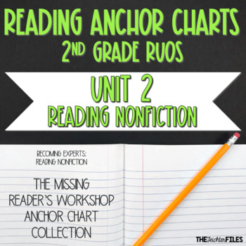 Lucy Calkins Reading Workshop Anchor Charts 2nd Grade RUOS (Unit 2)