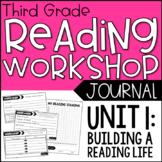 3rd Grade Lucy Calkins Reading Workshop Journals, Unit 1