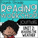 4th Grade Lucy Calkins Reading Workshop Journal, Unit 2