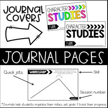 3rd Grade Reading Workshop Journals, Unit 3
