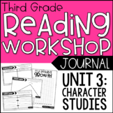 3rd Grade Lucy Calkins Reading Workshop Journals, Unit 3