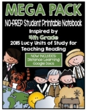 Lucy Reading Workshop: 4th Grade Notebook - MEGA PACK - Distance Learning