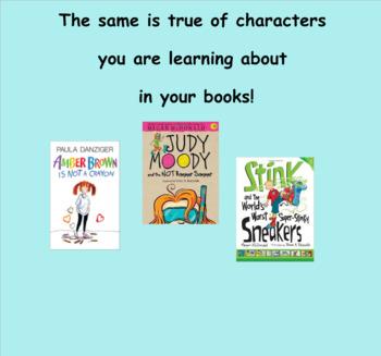 Reading Workshop Unit 3 Character Studies Lesson 1-18 PPT