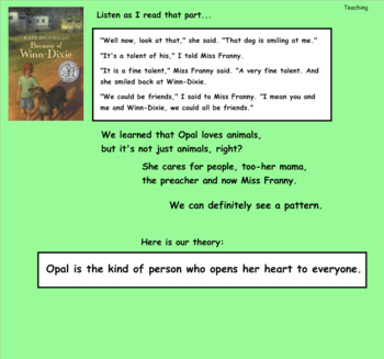 Reading Workshop Unit 3 Character Studies Lesson 1-18 PDF Presentation
