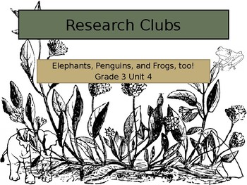 Lucy Calkins Research Clubs (Grade 3) Session 1