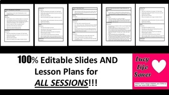 Lucy Calkins SUPER PACK Slides Lesson Plans 5th  READING Units 1-4 ALL SESSIONS